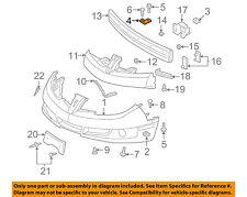 Pontiac GM OEM 03-05 Sunfire Front Bumper-Bumper Cover Bracket Left 22692867