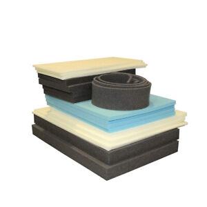 "Foam Cut To Size: 1 piece @    12 x 17 x 0.25""   high density blue"