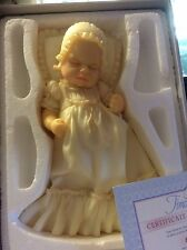 Middleton Sculptor Baby in Christening Gown Brand New