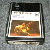 1960's 4-Track Tape RAVI SHANKAR RAGAS AND TALAS 4872 Liberty Stereo Tape Rare