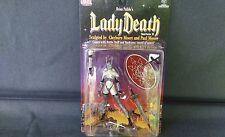 "1999 Chaos Comics Brian Pulido's ""Lady Death"" Series II Action Figure NIP"