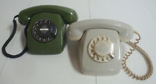 KULT KLASSIKER Post Telefon Posttelefon FeTAp 611-1 und 611-2 Wählscheibe 80erJ