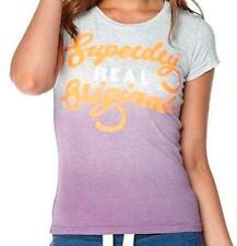 Superdry Cotton Patternless Basic T-Shirts for Women