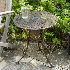 Outdoor Garden Furniture Smart Garden Illumina Solar Light Silhouette Table