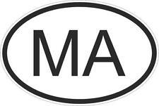 Adesivo adesivi sticker codice auto moto ritagliato nazioni ovale MAROCCO