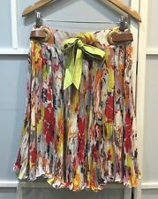 100% authentic Valentino colorful skirt with pleated