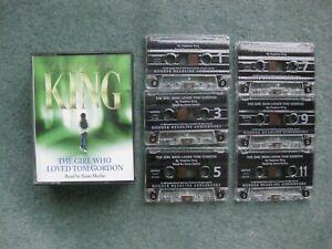 Stephen King audio book 'The Girl Who Loved Tom Gordon' 6 cassettes, 6.5 hrs
