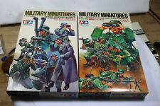 Tamiya MM 173 MM 138 2 Sets Military Miniatures 1:35 OVP