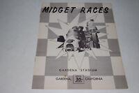 Sprint Car Races Program, Gardena Stadium California, 1960 #3