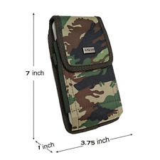 For Galaxy Note 10+,S20 Ultra,A21 Camo Holster Pouch fit OtterBox,LifeProof Case