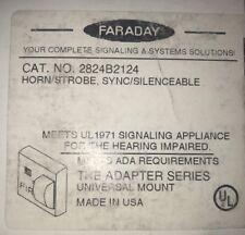 FARADAY HORM/STROBE, SYNC/SILENCEABLE 2824B2124