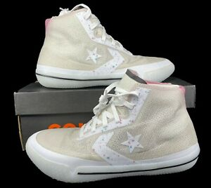 Converse All Star Pro BB Hi Basketball Sneaker Pale Putty White 168790C 14 Men