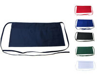 Kitchen Waist Half Aprons with 3 Pockets Home Commercial Restaurant Chef Cook