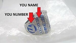 Custom YOU NAME /NUMBER 2020 Tampa Bay Lightning Championship Ring NHL