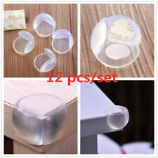 12pcs Table Corner Desk Edge Cover Protector Guard Cushion For Baby Child Safety