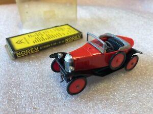 NOREV Ancien 1/43 CITROEN 5 HP N*46 Couleur Rouge avec boite d'origine