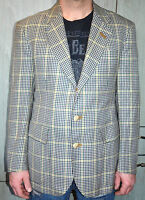 Vintage Daks Piccadilly London Men's Tweed Check Country Blazer 40R Jacket VGC