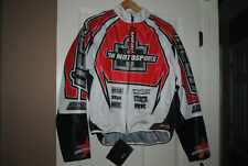 ICON HOOLIGAN JACKET, NEW WITH TAGS, MENS SIZE MEDIUM, BACK PROTECTION ONLY