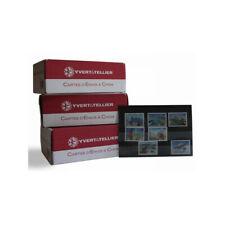 Pack de 1000 cartes de classement à 3 bandes pour timbres.