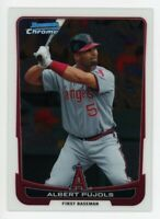 2012 Bowman Chrome #107 ALBERT PUJOLS Anaheim Angels HOF BASE BASEBALL CARD