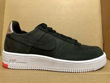 new concept a286b 80695 UOMO Nike Air Force 1 Ultraforce FC Qs Scarpe Numeri 7.5 Nero Cromo 865306  001