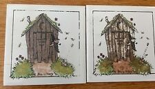"Vintage Tile ""Ozark Fasilitees"" Tiles Very Rare Find"