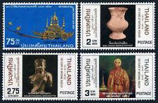 Thailand 703-706, MNH. National Museum,cent.Vase,Royal chariot,King Mongkut,1974
