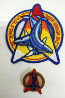 Vintage Star Trek IV Voyage Home Movie Patch & Pin Set- UNUSED- USA Mailed
