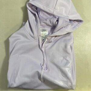 ADIDAS GU Womens Sweatshirt Purple Pullover Hoodie Sweater Size Small Pre-Owned
