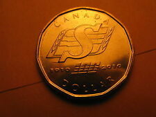 CANADA RARE 2010 $1 COIN SASKATCHEWAN ROUGHRIDERS BEAUTIFULL COIN!