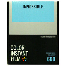 Impossible 600 Type Instant Film with SILVER Borders