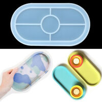 Mad Silicone Epoxy Resin Casting Molds Jewelry Making Mould Ashtray Mold Oval