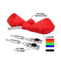 Universal Hand Guard Handguard Brush Bar For Honda CR125 CR250 CRF250 CRF450 Red