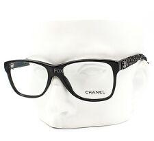 Chanel 3245 501 Eyeglasses Frames Glasses Black / Black Tweed 51-15-140 Display