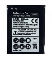 Bateria de recambio neutral para Samsung Galaxy S3 i9300 Modelo eb-l1g6llu