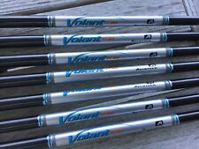 Aerotech volant iron shafts.  5-PW, U ,SW.  .370