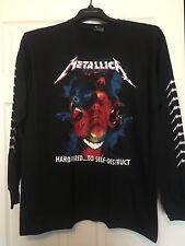 Metallica Hardwired to self destruct Long Sleeve Size Large