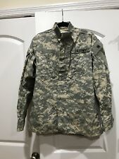 Us Army Mens Digital Camo Combat Long Sleeve Coat Jacket Size SMALL-LONG W Patch