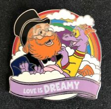 Figment & Dreamfinder Love is an Adventure Dreamy Mystery Pin Disney
