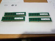 32GB Crucial 4 x 8GB CT102464BA160B.C16FER DDR3 1600MHz 1GX64 Desktop RAM
