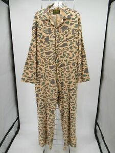 M9372 VTG Men's Hunter's Choice Camouflaged Hunting Coveralls Size 2XL