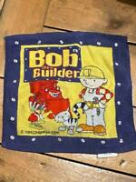 VINTAGE 1998 BOB THE BUILDER BATH FLANEL GOOD CONDITION FOR AGE