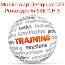 Mobile app design un prototipo iOS in Sketch 3-Video formazione tutorial DVD