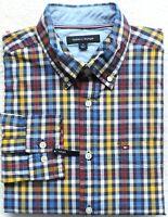 Tommy Hilfiger Men's The Flex Plaid Button-Down Shirts