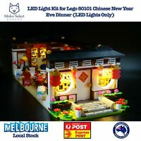 Led Lights Kit for Lego 80101 Chinese New Year's  Eve Dinner (Led Lights Only)