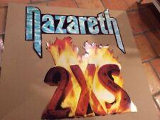 Vintage Nazareth 2XS 1982 A&M 2-piece Promo Store Display Rare Large 3'x4'
