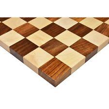 Borderless Hardwood End Grain Chess board - Golden Rosewood & Maple-50 mm square