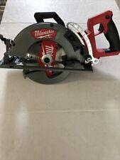 "Milwaukee 2830-20 7-1/4"" (184mm) Rear Handle Circular Saw W/ Blade - Tool Only!"