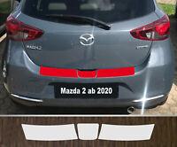 Ladekantenschutz Lackschutzfolie transparent Mazda 2 ab 2020