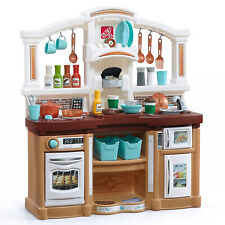 Kitchen Kids Play Set Pretend Baker Toy Cooking Playset Girls Food Accessories